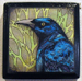 "Snap, Grackle, Pop - 3""x3"" Copic Marker & Ink on plaque (SOLD)"